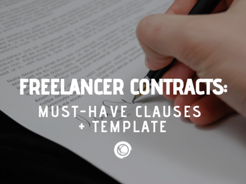 Freelance Contracts Must Have Clauses Free Template