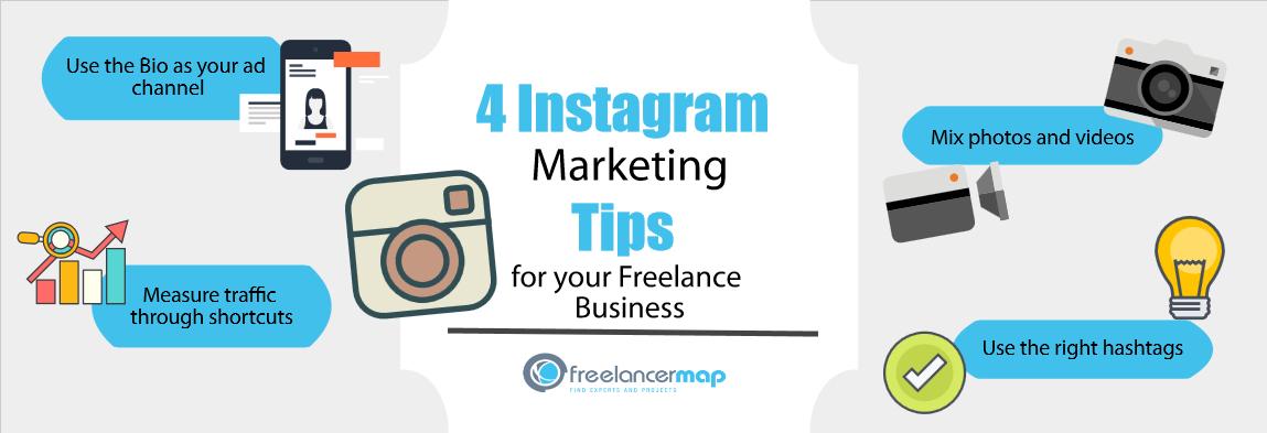 Instagram Marketing Tips for Freelancers