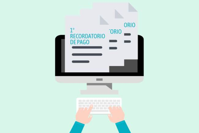 Recordatorios de pago de factura para freelancers