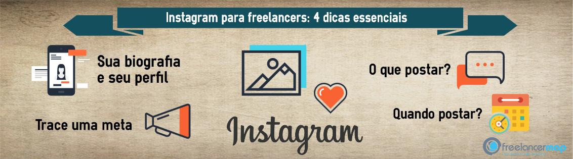 dicas de Instagram para freelancers